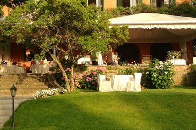 Una cornice da sogno immersa nei Castelli Romani: il vostro matrimonio a Villa Senni
