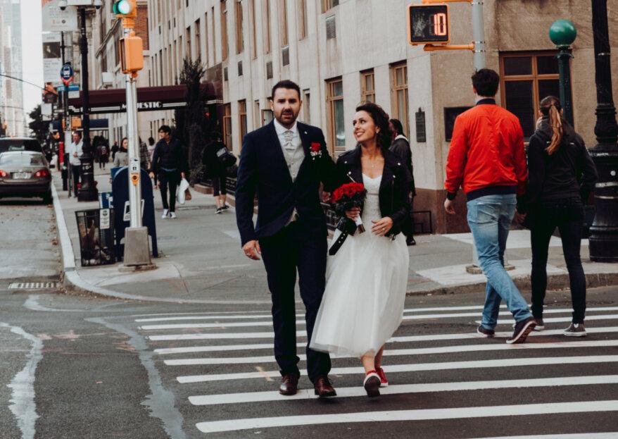 Romain et Cinthia : un mariage new-yorkais au coeur de Central Park