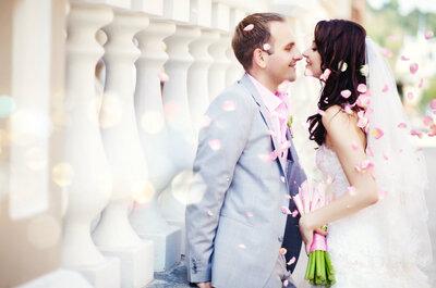 Cómo celebrar una boda muy chic. ¡Atrévete a ser la novia más envidiada!