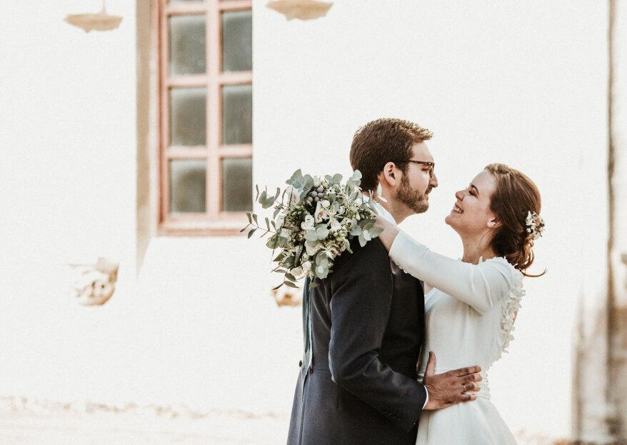 Un día lleno de emociones y felicidad: la boda de Marta y Fernando