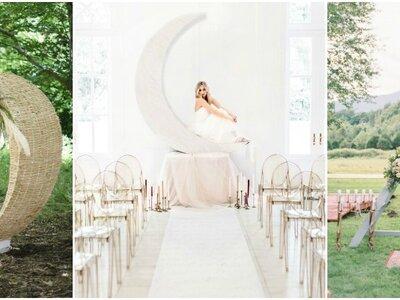 Pomysły na dekorację ślubną! Wybierz coś dla siebie.