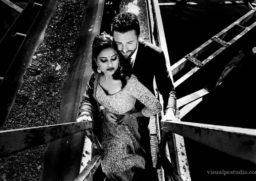 De India a Galicia: la boda de Nikki y David