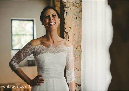 Como escolher o vestido de noiva para casamento no campo?