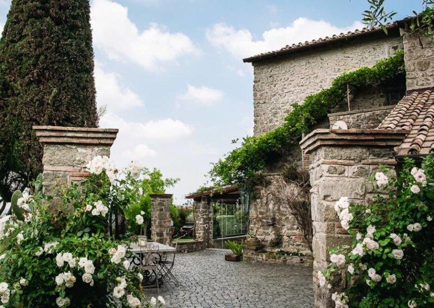 Vi sposerete in Italia? Qui una lista di alcune location perfette per le vostre nozze!