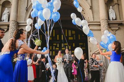 Cómo utilizar tonos azules para decorar tu matrimonio: elegancia y frescura