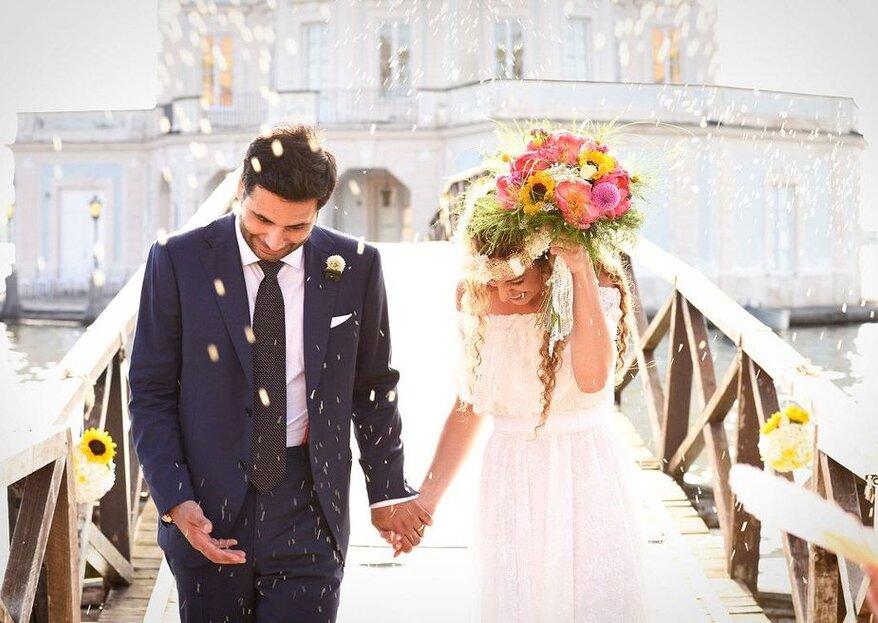 Un matrimonio è unico solo se ha stile: ecco i fornitori giusti