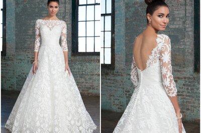 Uwiedź swoich gości ekskluzywną suknią ślubna od Justina Alexandera 2016!