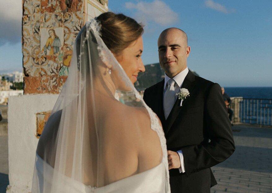"""""""Con amore e dedizione"""": la fotografia di nozze firmata Marco Annunziata"""