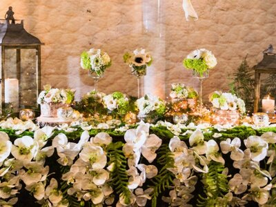 A Decadent Parisian Destination Wedding: Creative Floral Compositions from Dely Fleurs