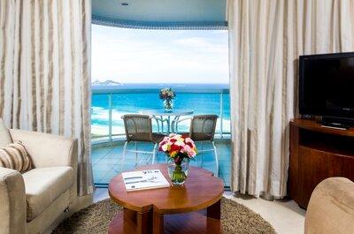 Radisson Hotel Barra: perfeito para dia da noiva, noite de núpcias ou noite romântica no Rio de Janeiro
