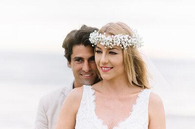 Casamento de Bruno &Emilly: rústico, à beira mar e cheio de detalhes DIY maravilhosos em Santa Catarina!