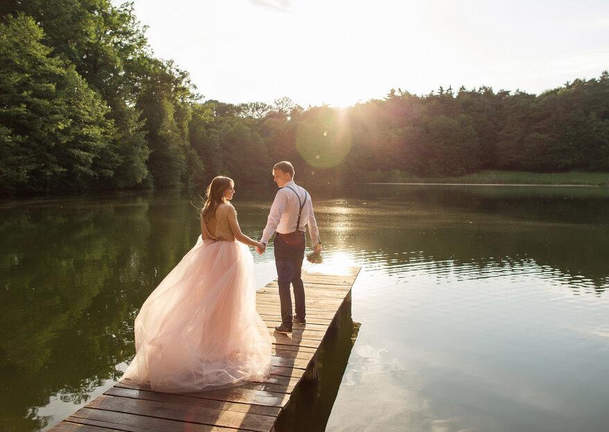 Heiraten am Wasser - traumhafte Hochzeitslocations am See