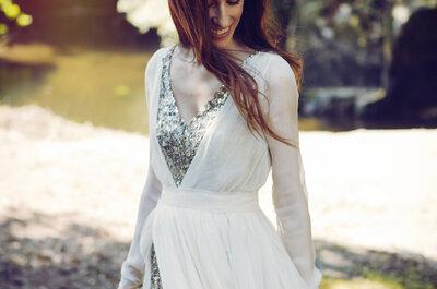 Los vestidos de novia más hermosos para tu boda: entrevista con la diseñadora Raquel Ferreiro