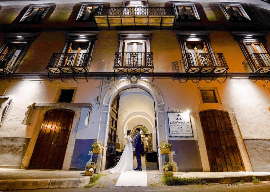 Palazzo Acampora: a timeless and versatile setting for your fairy-tale wedding!