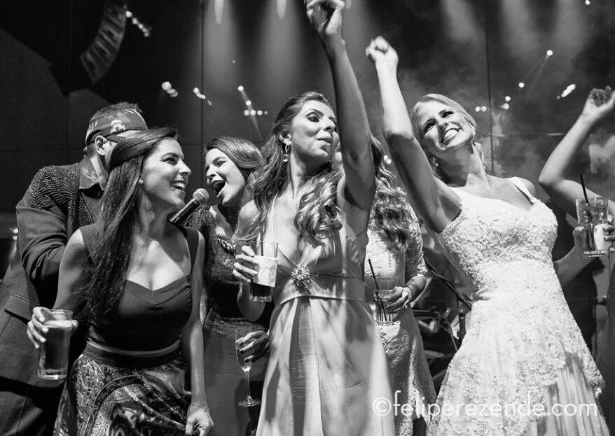 Banda FEELS: Garanta boa música, alto astral e elegância na pista da festa do seu casamento!