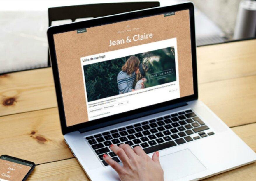 Couple international ? 6 solutions pour créer votre site et liste de mariage !
