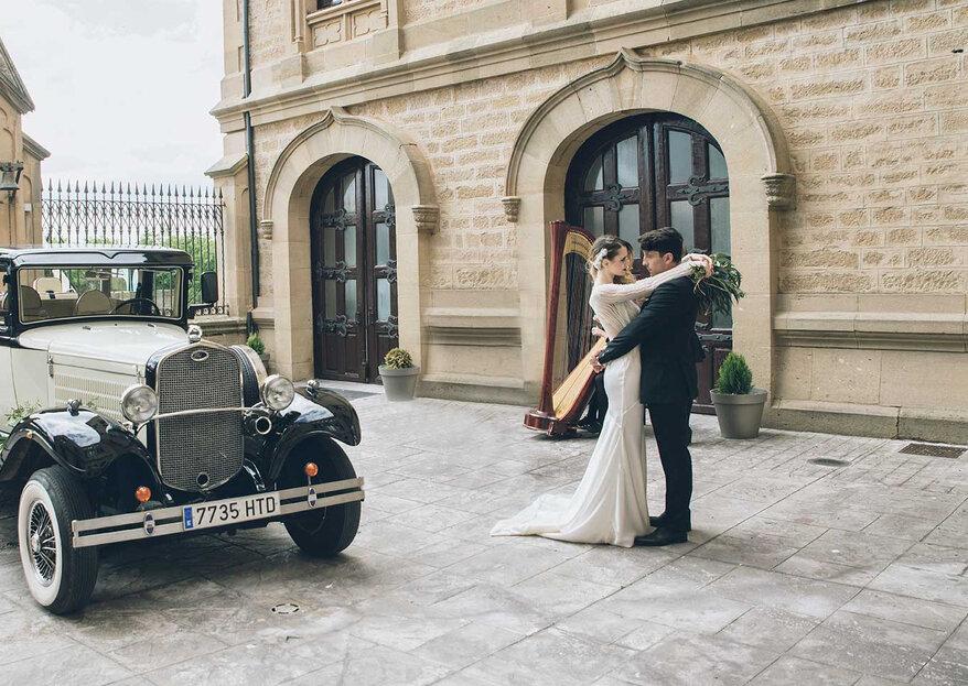 Una boda con historia en el Palacio de la Vega o una boda urbana en el Restaurante Marisol: ¡elige la tuya!