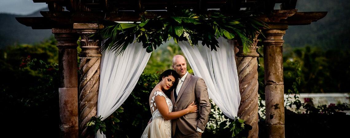 De exotische Destination Real Wedding van Paco & Charina in Puerto Rico!