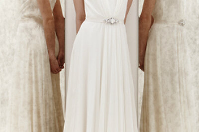 Brautkleider im Empire-Stil 2013