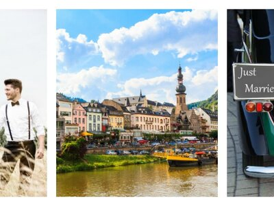 Heiraten in Rheinland-Pfalz – Verlockende Burgen, Schlösser und Weinberge für die Traumhochzeit