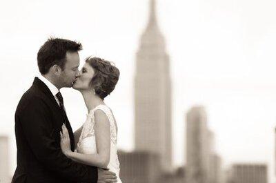 Zankyou Couple Alex & Lisa's NYC Wedding by Martha Stewart Weddings!