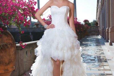 Robes de mariée Sweetheart 2015: une collection exotique entre glamour et élégance