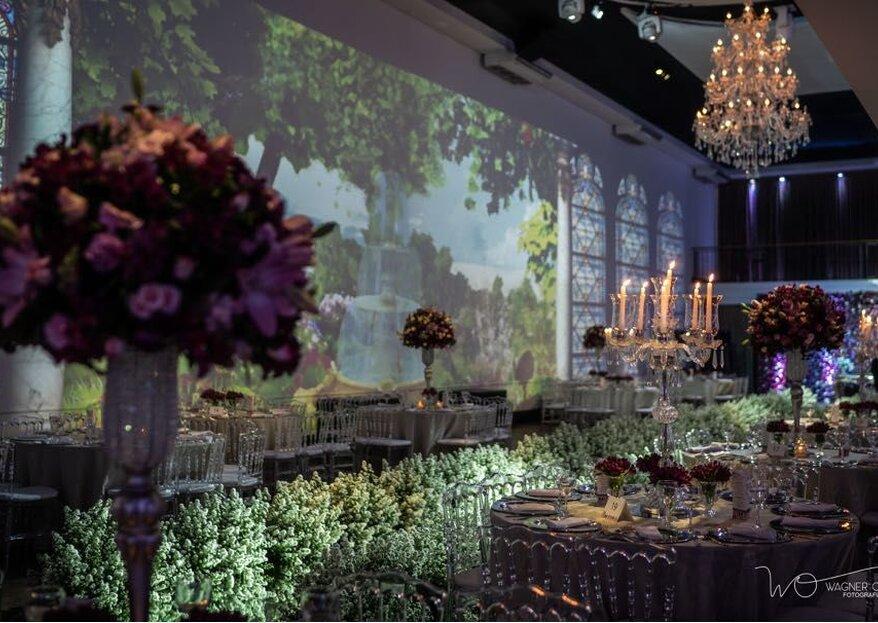 Espaço e Buffet Fernandes: um espaço com estrutura completa para a realização de festas de casamentos inesquecíveis e um buffet premiado. Você vai se encantar e se deliciar!