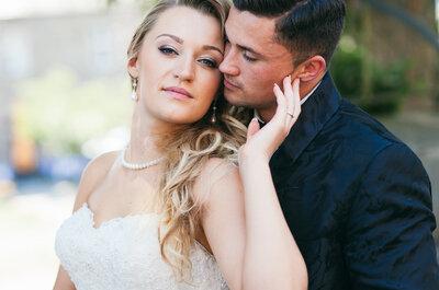 Heiraten am heißesten Tag des Sommers – Philipp & Olga trauten sich bei über 39°C