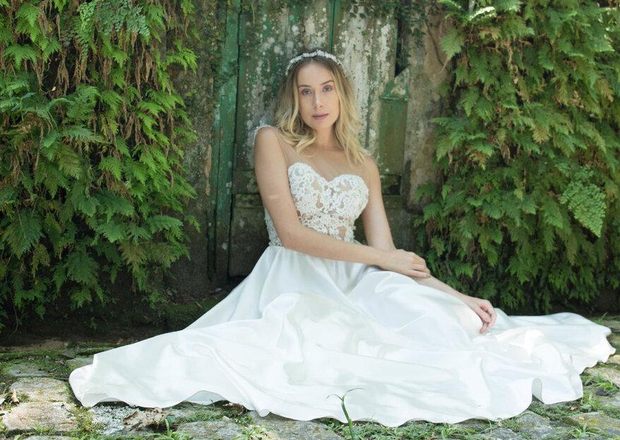Maison Delorée: vestidos de noiva e de festas exclusivos, feitos à mão e que apresentam toda a sutileza e sofisticação da alta costura