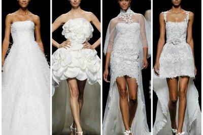 Manuel Mota desvela los bocetos de sus vestidos de novia 2013