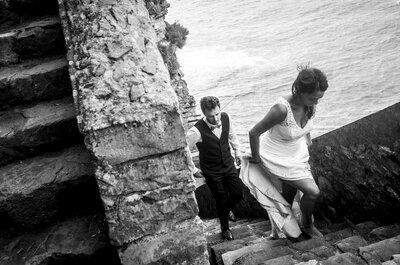 Le mariage pailleté au Pays Basque d'Amandine + Benjamin