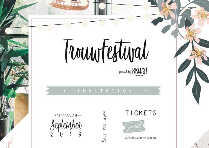 Trouwfestival: in festival-style inspiratie opdoen voor jouw bruiloft!