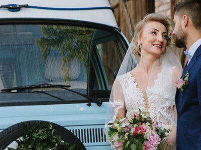 Imponujący ślub Moniki i Kamila w rystykalnym młynie. Inspiracja i niezwykły klimat! Zobacz!