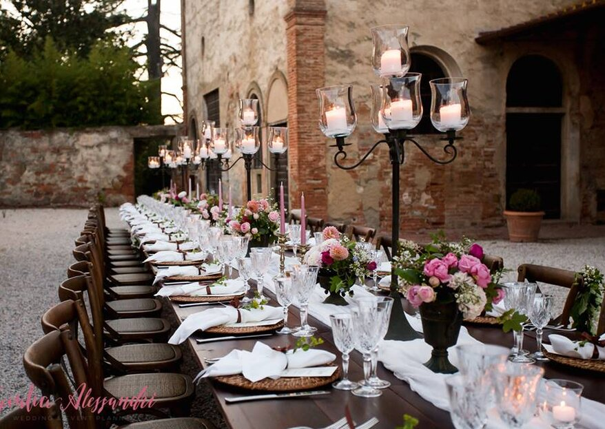 Destination Italy 2019: Decoration Trends and Tips from Wedding Planners