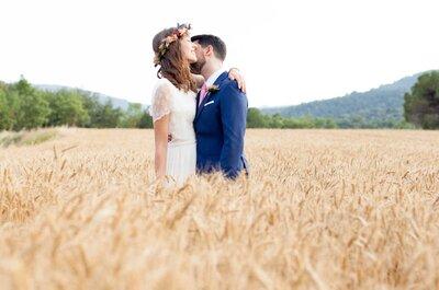 Un amor unido por la música: la boda de Lara y Santi