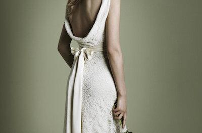 Hochzeitskleider mit Schleife - das romantische Brautaccessoire