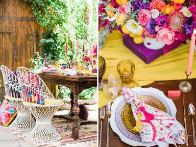 20 doskonałych pomysłów na dekoracje ślubną w stylu boho-chic. Zainspiruj się nimi!
