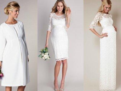 15 Brautkleider für die werdende Mutter: Hinreißende Modelle für verschiedene Phasen der Schwangerschaft