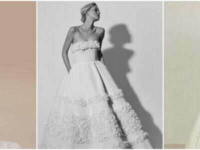 Vestidos de novia escote palabra de honor: ¡El clásico de clásicos!