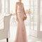 Платье  8U321 Aire Barcelona Fiesta 2015 розовое платье