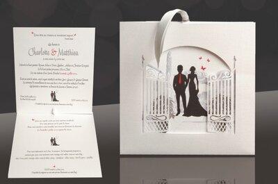 8 faire-part de mariage originaux pour vous inspirer avec Mots & Papiers