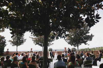 Selección de imágenes de bodas al aire libre