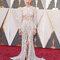 Rooney Mara com vestido da Gucci.