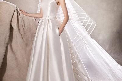 O penteado de noiva certo para o vestido de noiva ideal: revelamos todos os segredos e tendências!