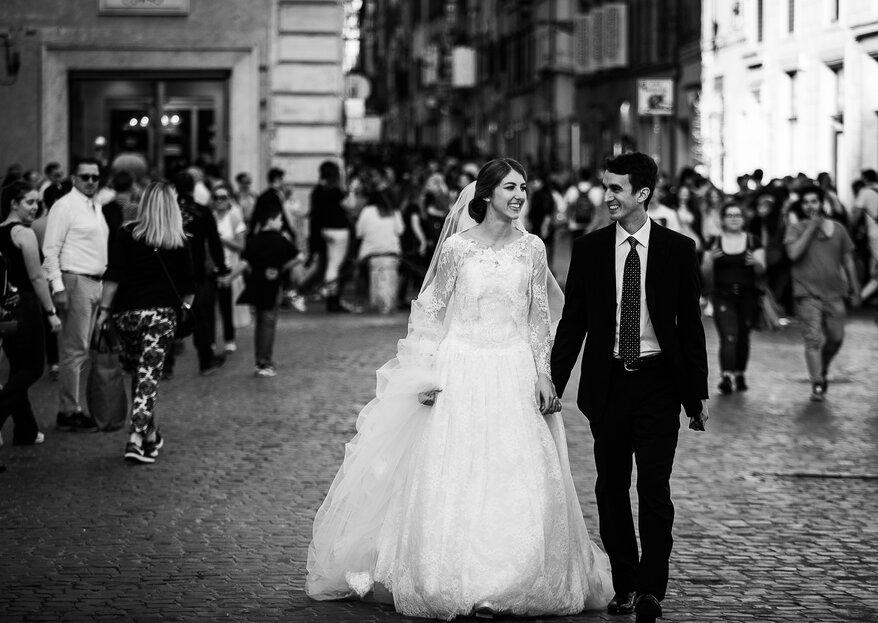 """""""Dove finisci tu comincio io"""": le nozze di Andres e Cecilia"""