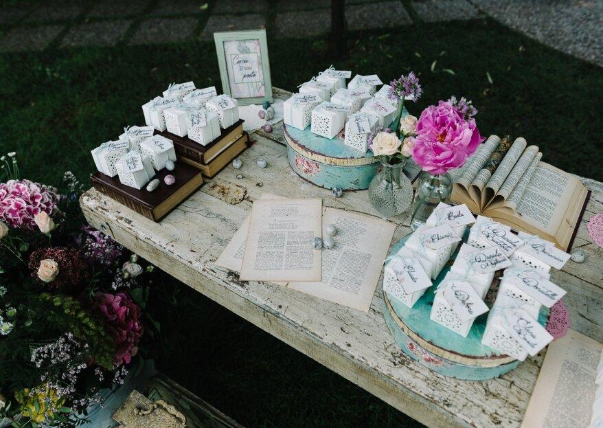 Melòdia Eventi, un perfetto equilibrio di elementi originali e raffinati per personalizzare al massimo le vostre romantiche nozze