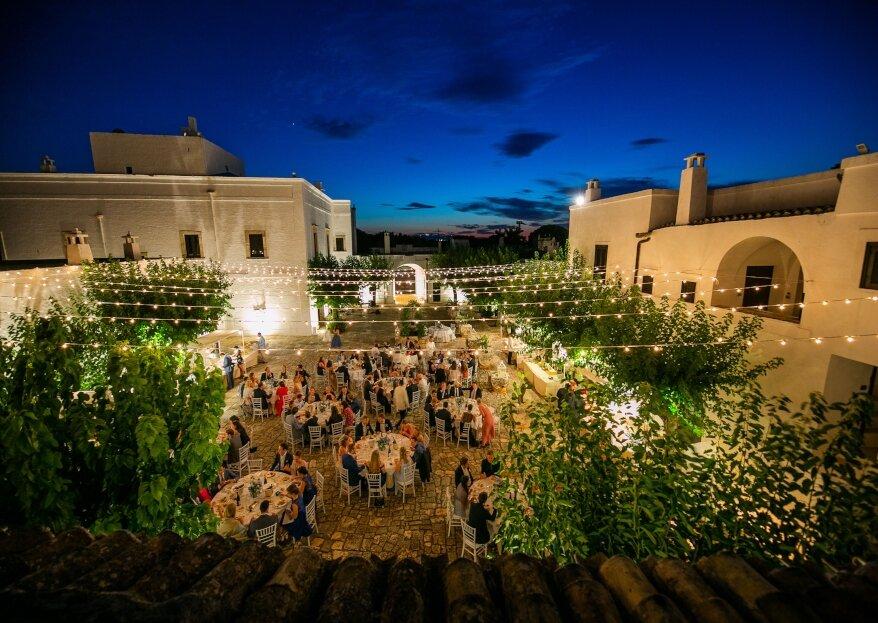 Masseria Montalbano: un matrimonio intimo in una dimora storica autentica