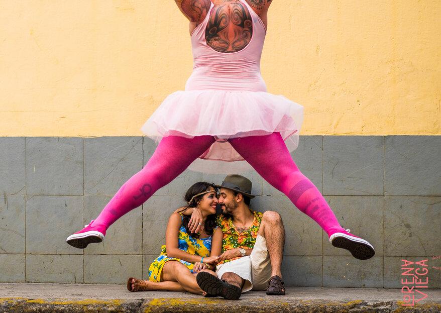 Amor e humor: a combinação perfeita para fotos que ficarão na memória