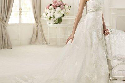 Suknie ślubne Pronovias 2013, kolekcja Costura