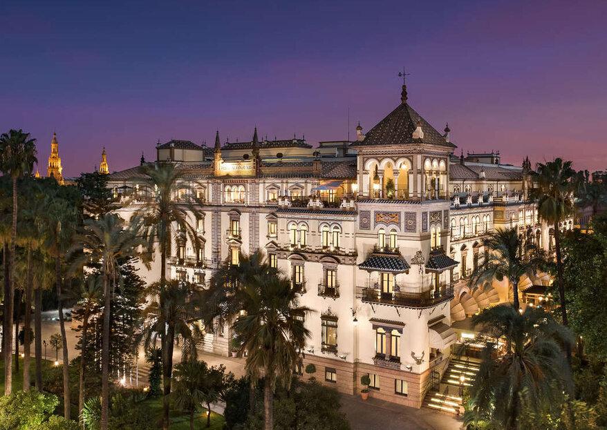 Hotel Alfonso XIII: supera las expectativas y sorprende con una boda en un lugar emblemático
